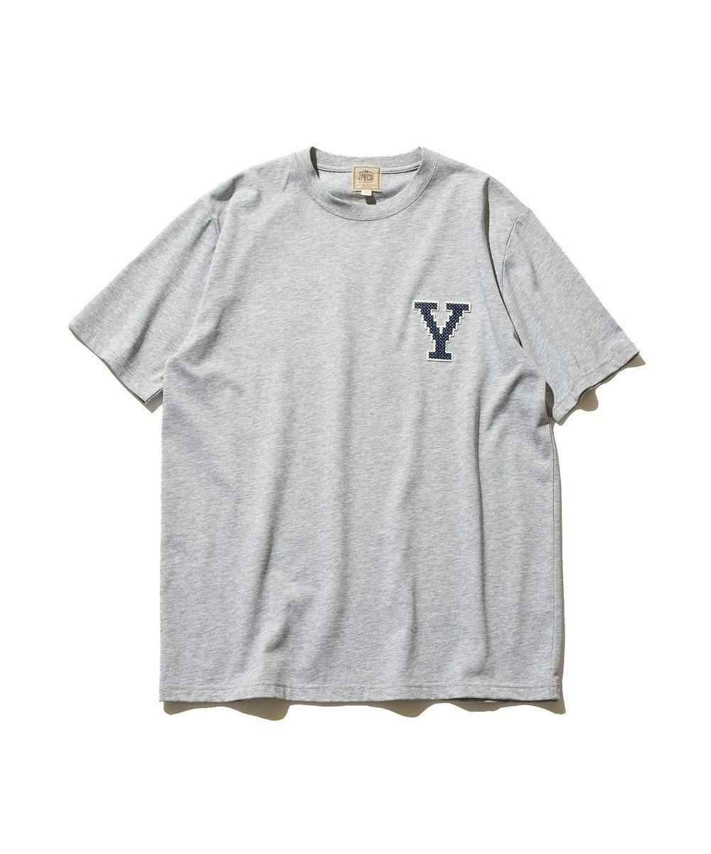 J.PRESS MEN 【J.PRESS×YALE】アスレチッククルーネック Tシャツ ライトグレー系