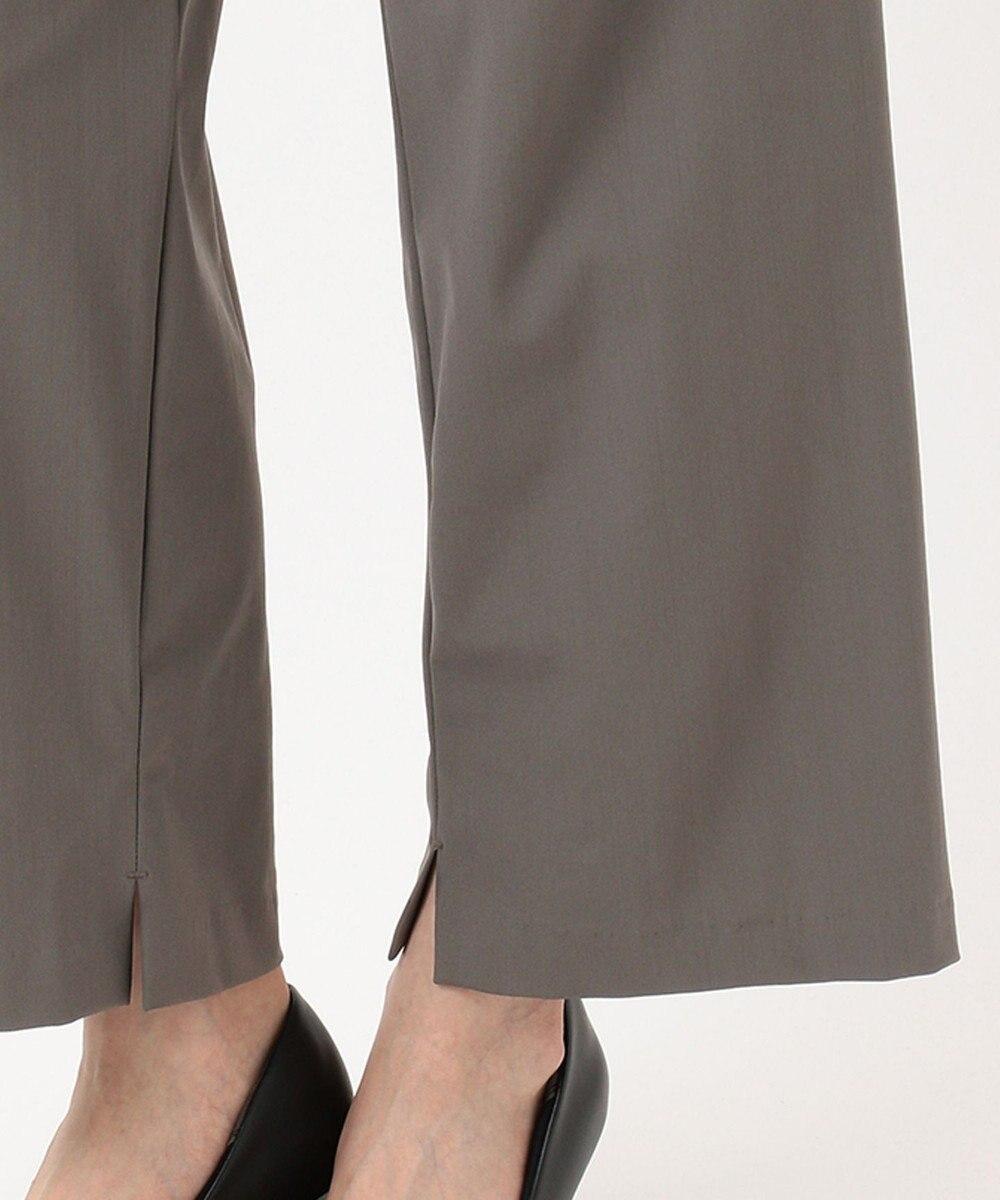 J.PRESS LADIES L 【UVケア・接触冷感・洗える】ジャージー パンツ グレー系