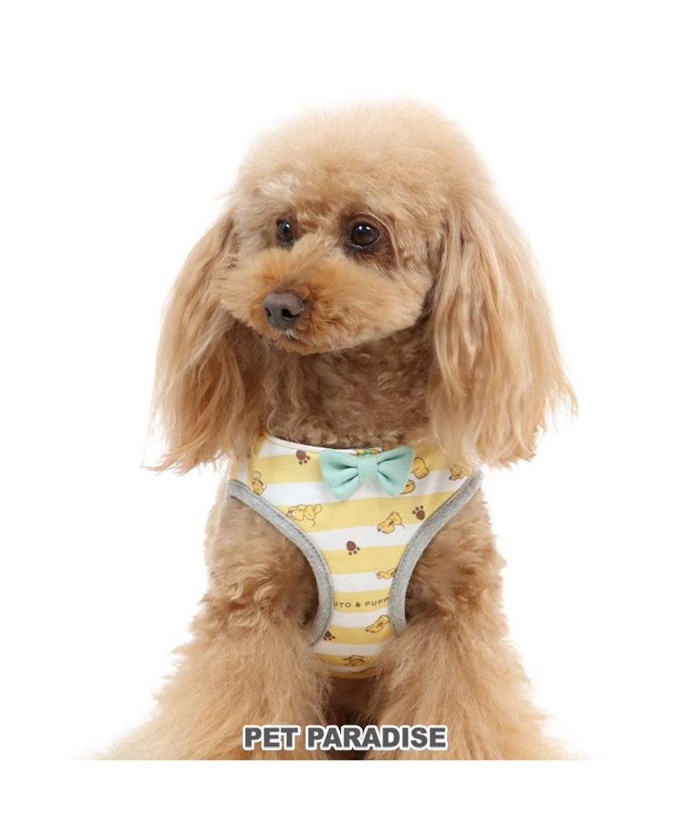 PET PARADISE ディズニー プルート&パピー ベストハーネス S 〔小型犬〕 黄