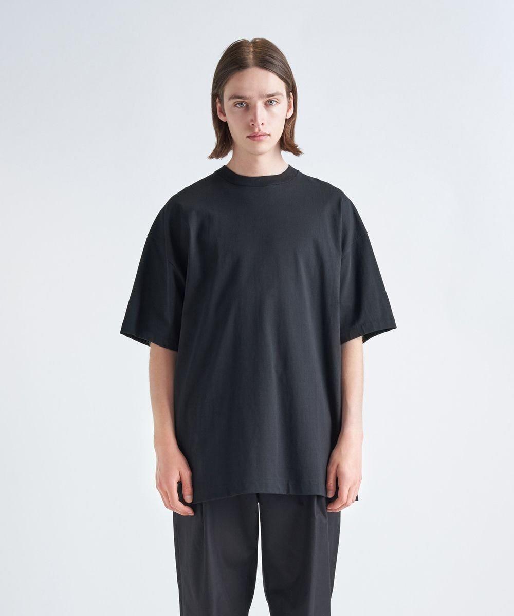 ATON SUVIN AIR SPINNING | オーバーサイズTシャツ - UNISEX BLACK