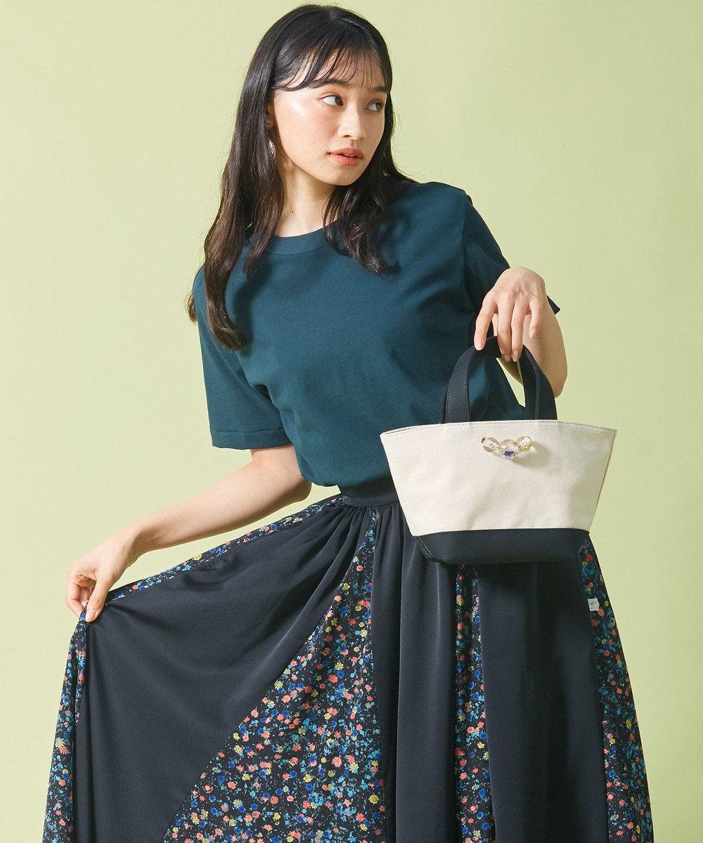 ANEVER 【LILY】キャンバス ミニトート ホワイト系