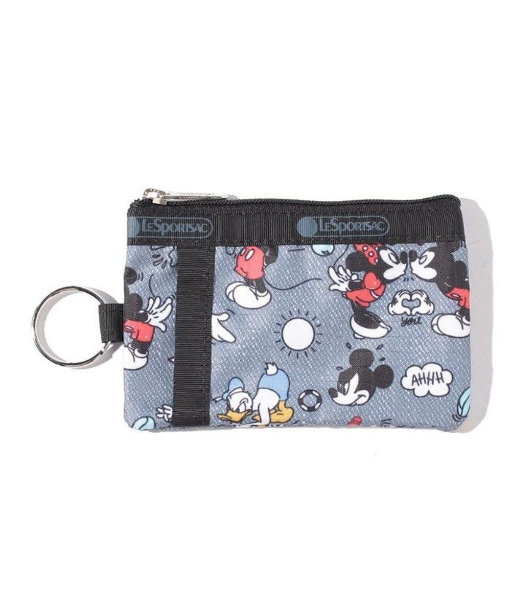 LeSportsac ID CARD CASE/ミッキードゥードゥル ミッキードゥードゥル