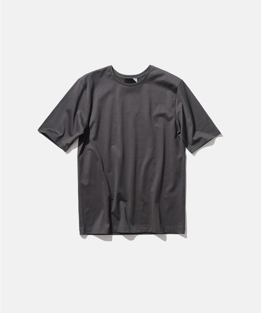 ATON SUVIN 60/2 | パーフェクトショートTシャツ GRAY