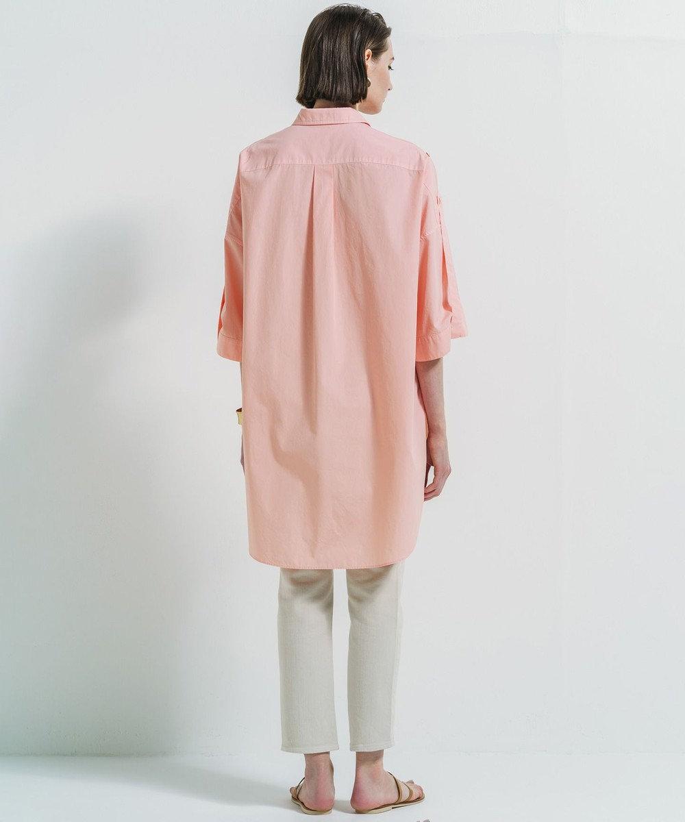 23区 【23区 lab.】ハイカウントブロード ビッグ シャツ ピンク系