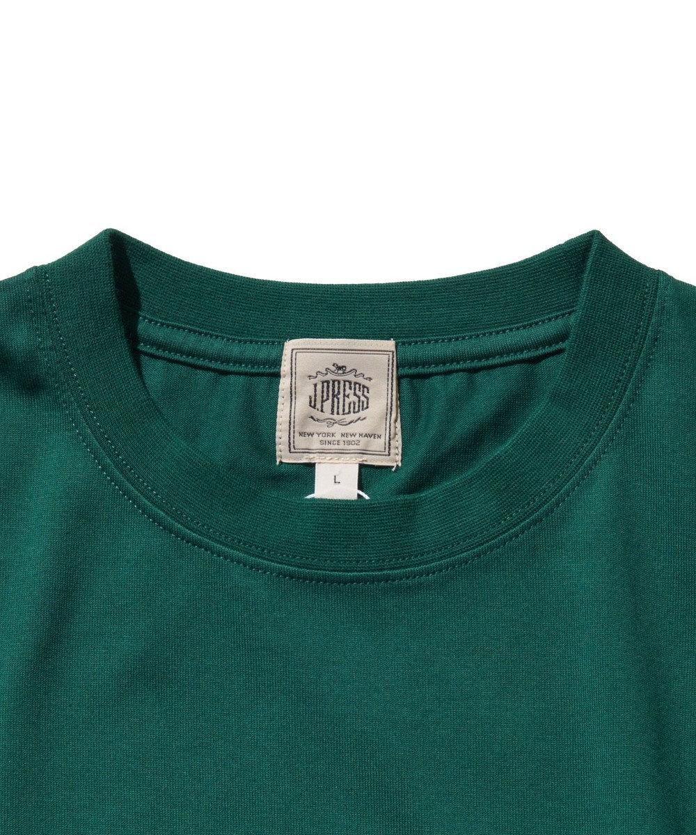 J.PRESS MEN 【WEB限定カラー&サイズ有】【UNISEX】バックブルドック Tシャツ グリーン系