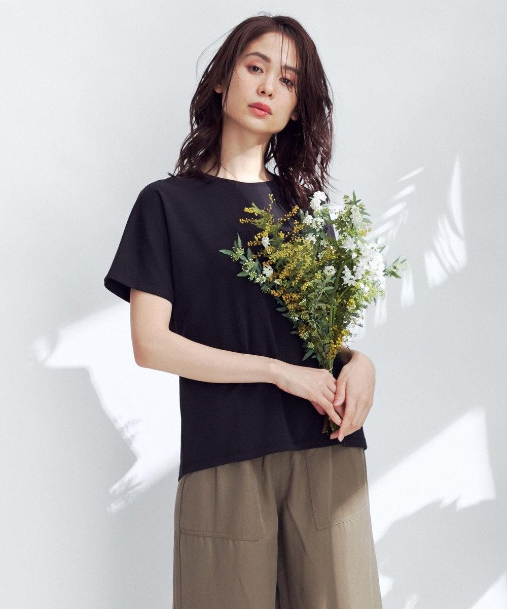 any FAM L 【定番人気】【UVケア】プレミアムベーシック Tシャツ ブラック系