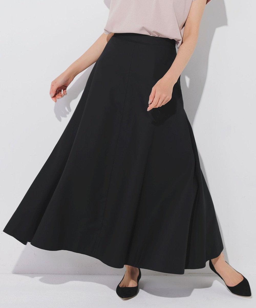 23区 S 【マガジン掲載】ハイカウントダブルクロス フレアスカート(番号2F28) ブラック系