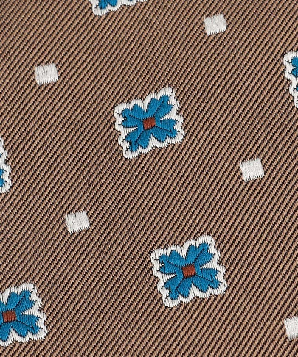 J.PRESS MEN 【J.PRESS BBC JACQUARD】小紋柄 ネクタイ ベージュ系8