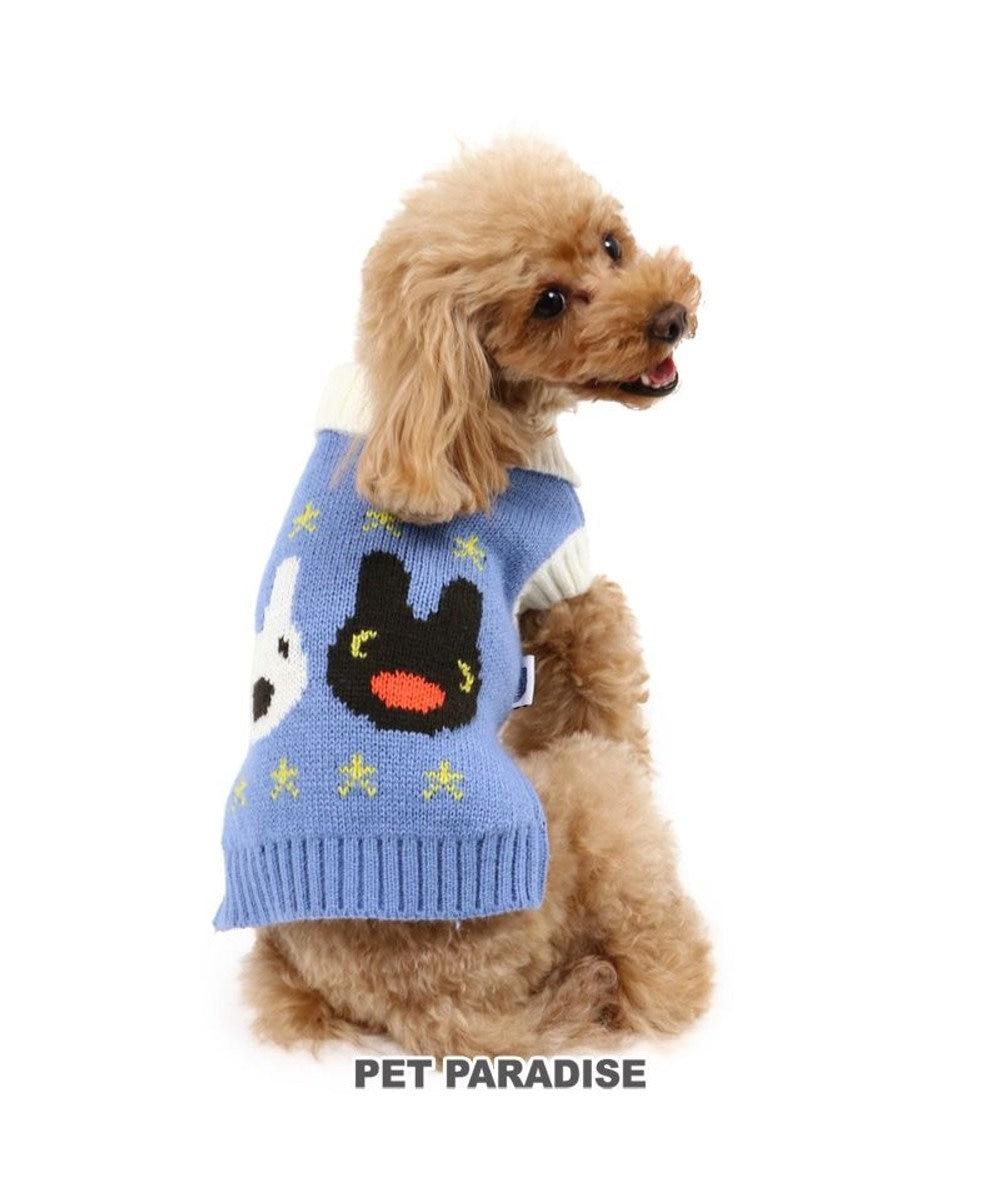 PET PARADISE 犬 服 秋服 リサとガスパール ニット 〔小型犬〕 フェイス柄 犬服 犬の服 犬 服 ペットウエア ペットウェア ドッグウエア ドッグウェア ベビー 超小型犬 小型犬 青