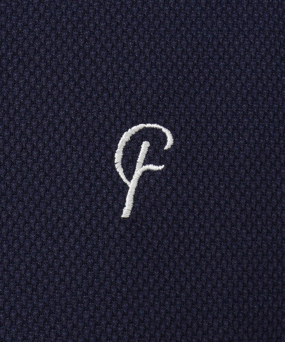 23区GOLF 【MEN】【Fondation/WEB限定】【吸汗速乾/UV/日本製】ポロシャツ ネイビー系