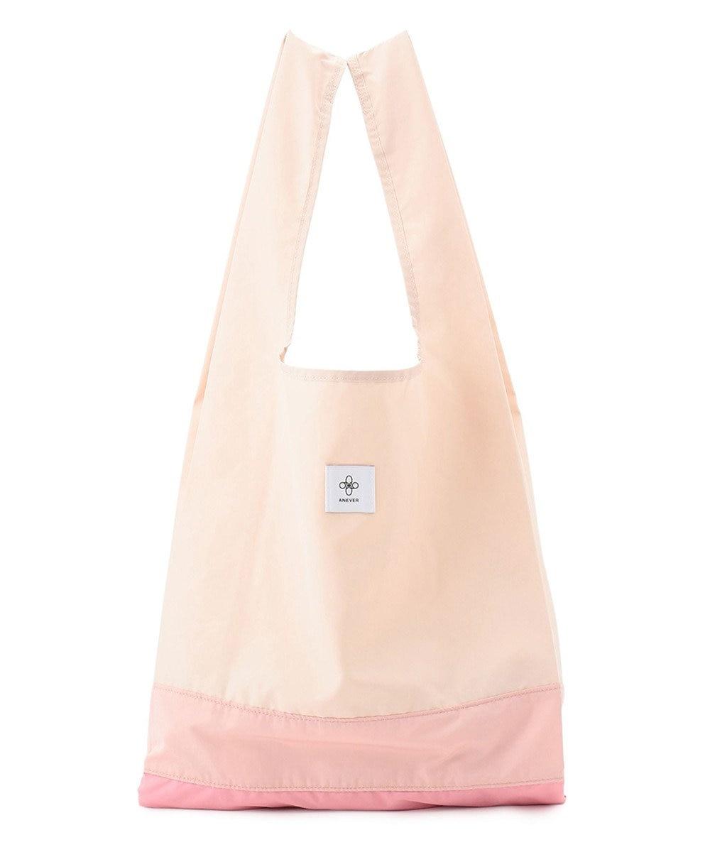 ANEVER 【BURNET】洗える エコトート バッグ 3月 サクラ 純潔