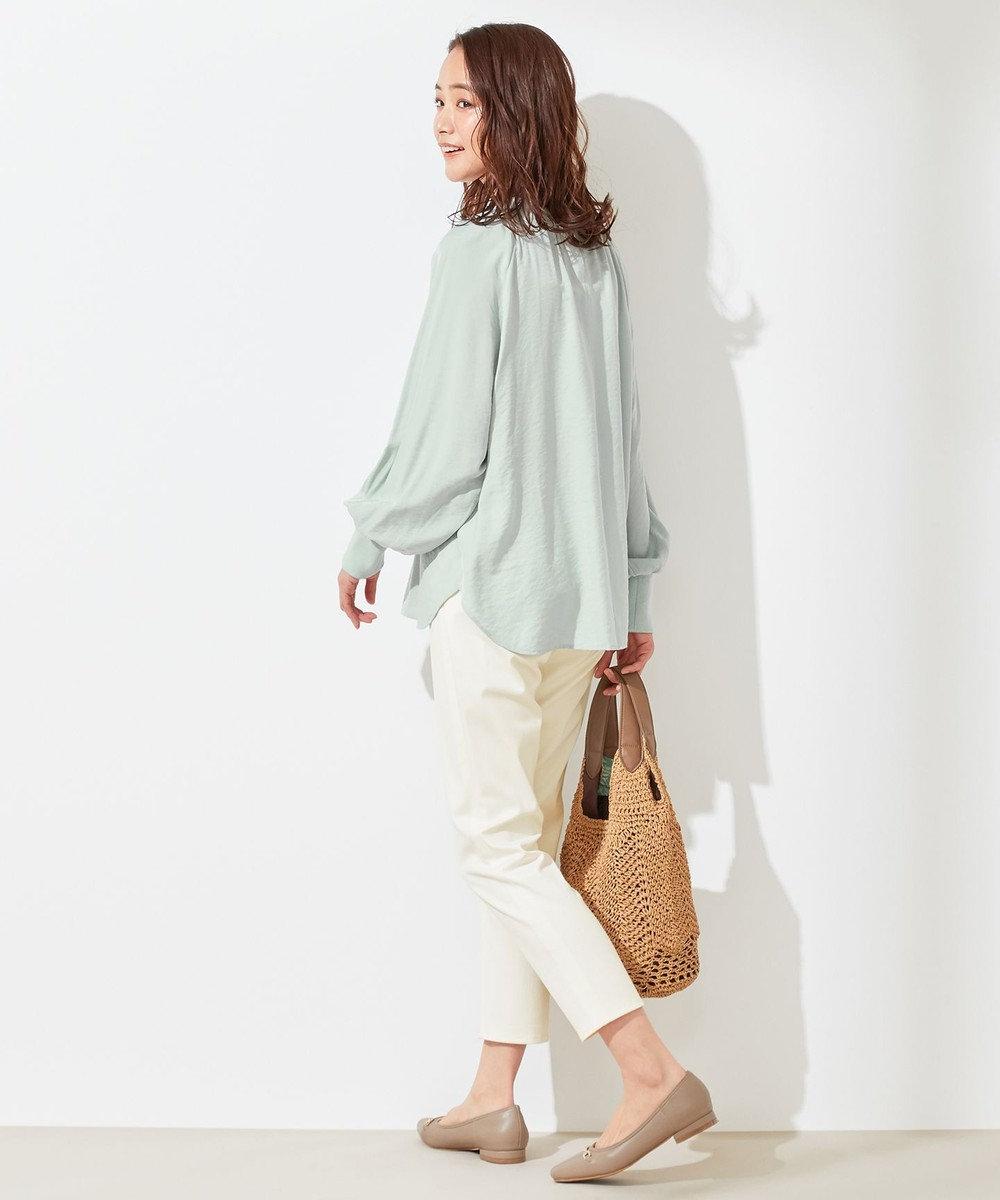 any SiS L 【洗える】エバービューティ パンツ ホワイト系