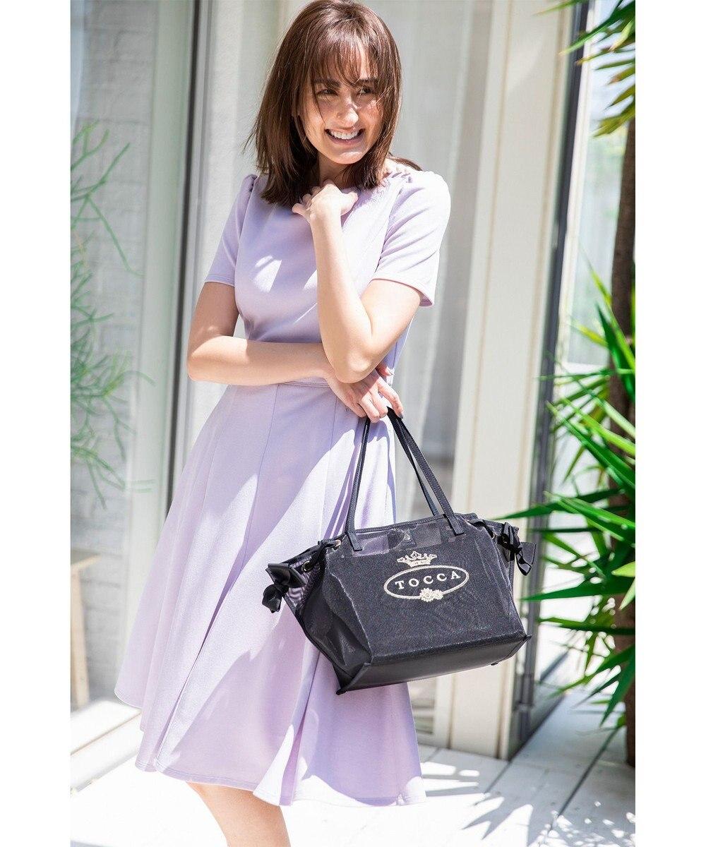 TOCCA 【洗える!】APERTO DRESS ドレス ライラック系