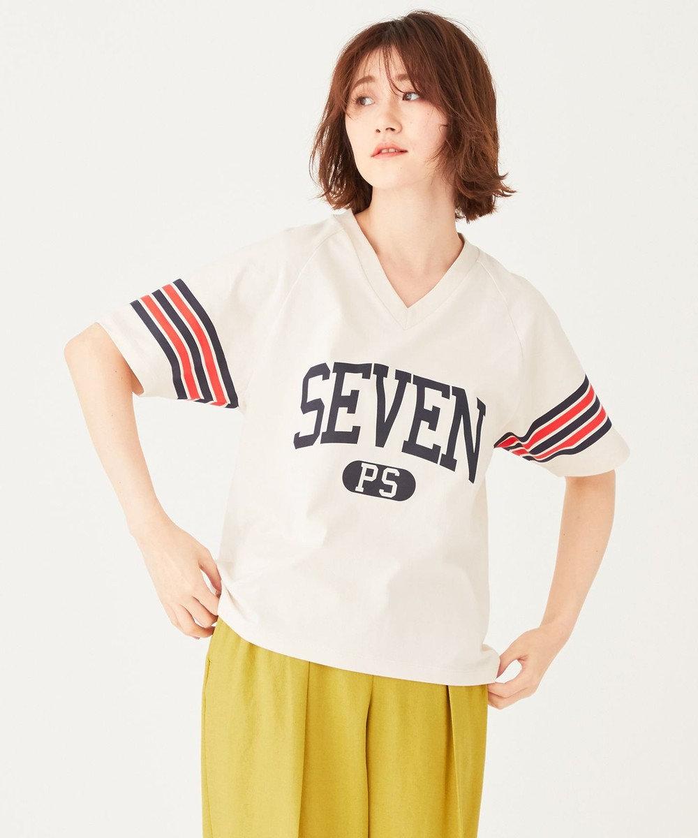 Paul Smith 【洗える】SEVEN Tシャツ ベージュ系