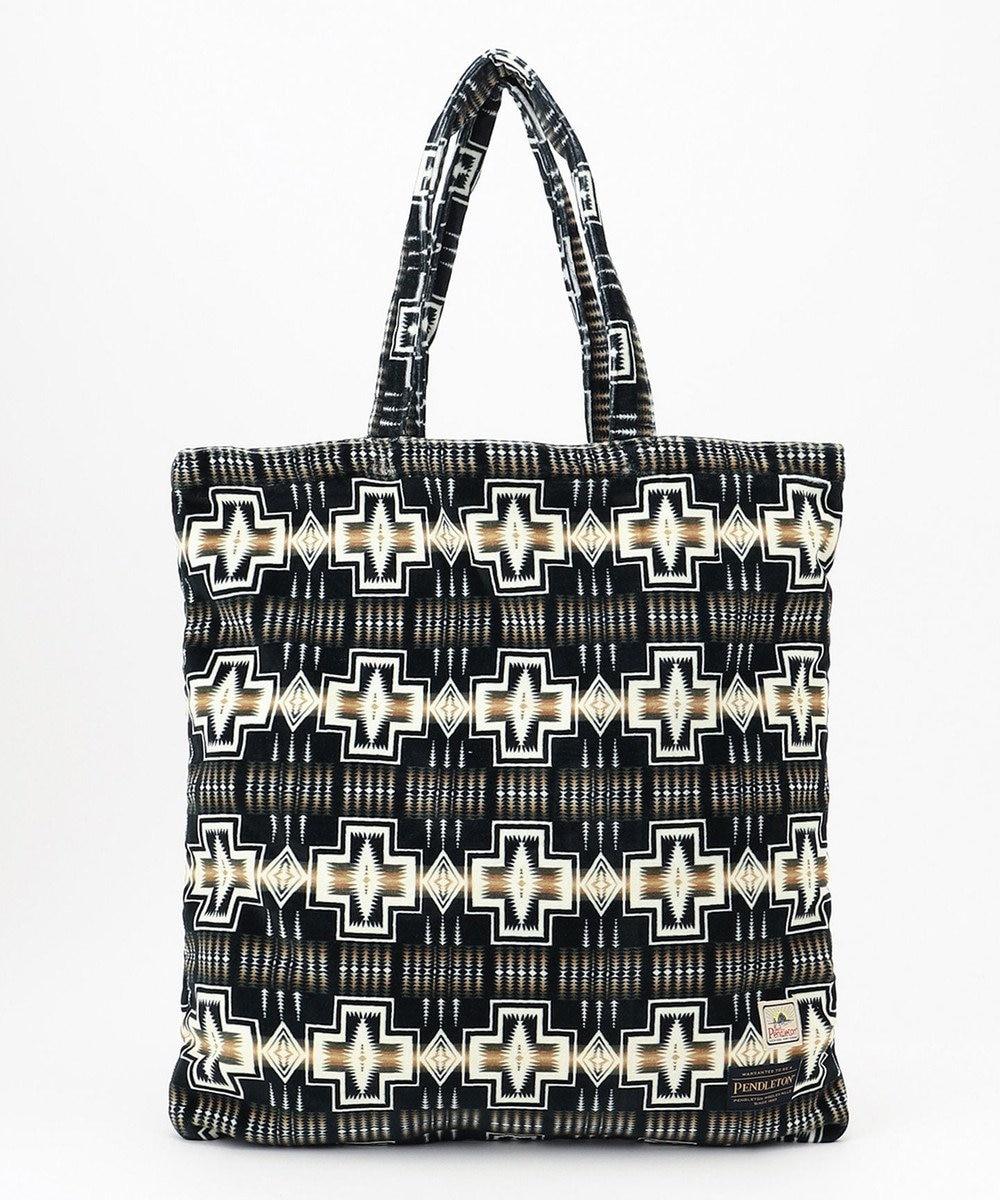ONWARD CROSSET STORE 【PENDLETON】Pile Tote Bag L BLACK