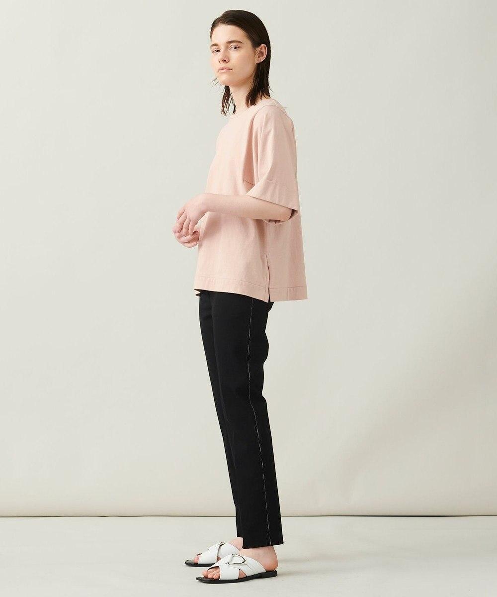 JOSEPH 【 柚香 光さん着用・洗える】スクエアジャージー Tシャツ ローズ系