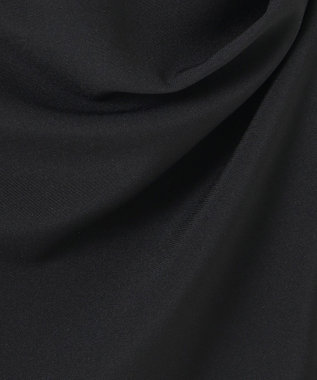 J.PRESS LADIES 【洗える】キャミワンピース+カットソー ツインセット ブラック系