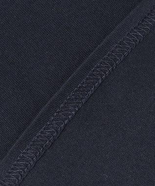 J.PRESS KIDS 【120-130cm】40/2天竺フラッグポイントTシャツ ネイビー系