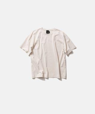 ATON NUBACK COTTON | オーバーサイズTシャツ - UNISEX OFF WHITE