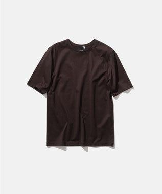 ATON SUVIN 60/2 | パーフェクトショートTシャツ BROWN