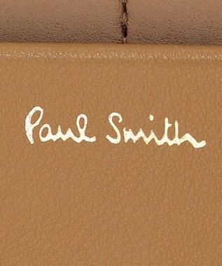 Paul Smith コントラストカラーブロック 長財布 ピンク系