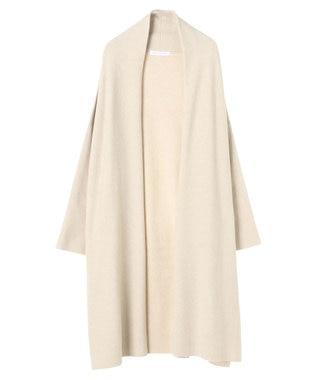 AMERICAN HOLIC ミラノリブボリューム襟ニットコーディガン Ivory