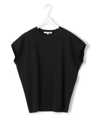 23区 S 【ONWARD MAG】フレンチ スリーブ  IT Tシャツ ブラック系