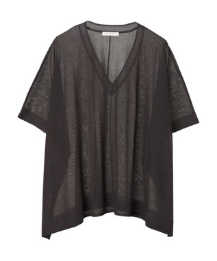 Green Parks シアーニット Charcoal Gray