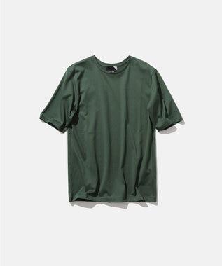 ATON SUVIN 60/2 | パーフェクトショートTシャツ GREEN