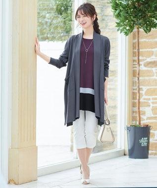 Tiaclasse 【日本製・洗える】レギンス感覚で穿けるストレッチパンツ オフホワイト