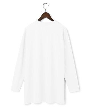23区 S 【中村アンさん着用】コットンベアジャージー 長袖 Tシャツ(番号2F67) ホワイト系