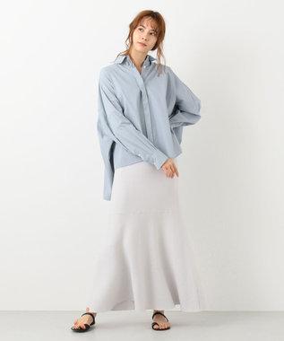 #Newans 【マガジン掲載】SOPHIE/ ワイドワイズシャツ(番号NE25) ブルーグレー系