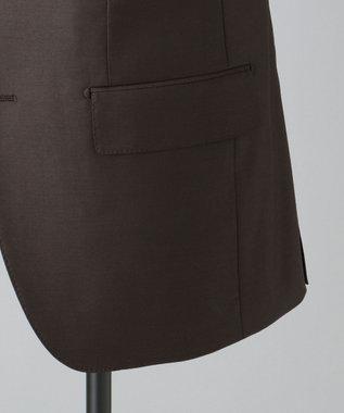 GOTAIRIKU 【DORMEUIL】EXELBLUE スーツ(※店頭にてパターンメイド受注のみ可能) ダークブラウン系