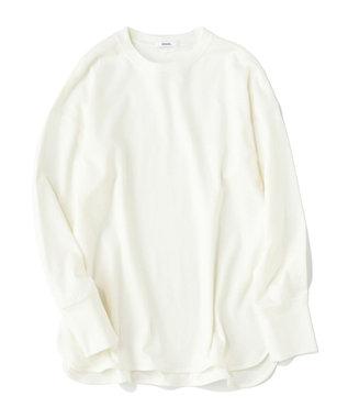 ONWARD Design Diversity 【IIQUAL】ラウンドボトム ロングスリーブ Tシャツ ホワイト系