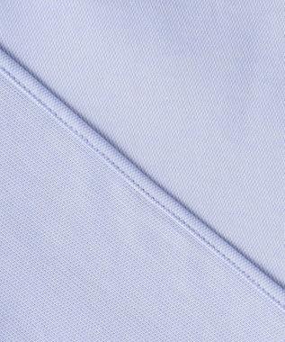 GOTAIRIKU 【COOLBIZ / リモートワークにも】COOLMAX 前開きポロシャツ サックスブルー系