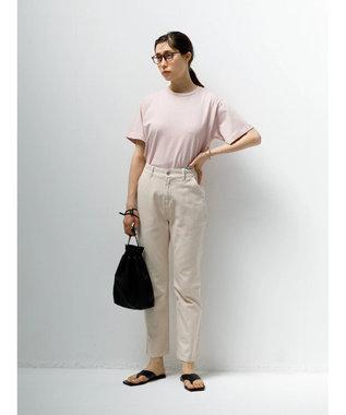 koe 抗菌防臭オーガニックコットンクルーネックTシャツ Pink