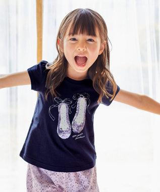 ミラクルスパンコール 半袖Tシャツ