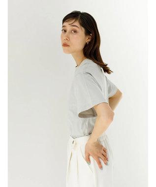 koe 抗菌防臭オーガニックコットンクルーネックTシャツ Light Gray