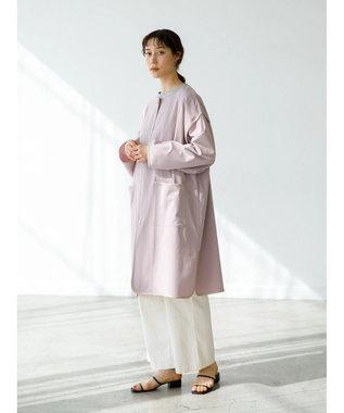 koe パイピングコート Pink