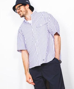J.PRESS YORK STREET 【UNISEX】ロゴプリント Tシャツ ホワイト系