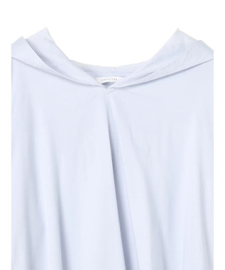 AMERICAN HOLIC フード付きシャツチュニック Off White
