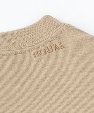 ONWARD Design Diversity 【IIQUAL】ラウンドボトム ロングスリーブ Tシャツ ベージュ系