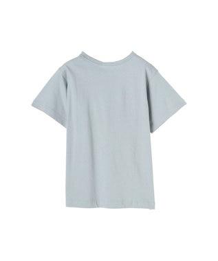 koe 抗菌防臭オーガニックコットンクルーネックTシャツ Sax