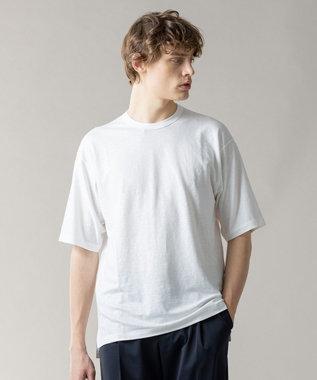 JOSEPH HOMME トップリネン Tシャツ ホワイト系