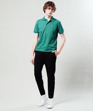 23区GOLF 【MEN】【Fondation/WEB限定】【吸汗速乾/UV/日本製】ポロシャツ オリーブ系