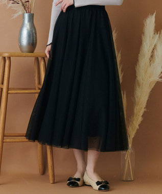 TOCCA 【TOCCA LAVENDER】Fluffy Tulle Skirt スカート