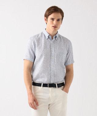 ソアロンフラワープリント 半袖シャツ