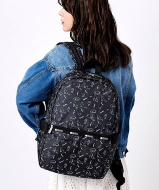 LeSportsac CARRIER BACKPACK/キャットアンドフィンチ キャットアンドフィンチ