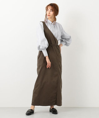 #Newans 【マガジン掲載】AUDREY/イタリアンカラーシャツ(番号NF46) グレー系