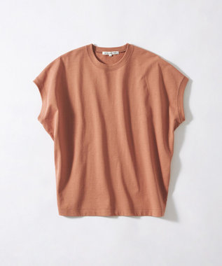 23区 S 【ONWARD MAG】ボリュームコットン フレンチスリーブ TEE(番号2K82) ピンク系